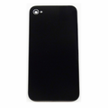 iPhone 4S Glass Back Cover Frame Replacement - Black