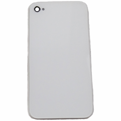 iPhone 4S Glass Back Cover Frame Replacement - White