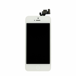 iPhone 5 LCD & Touch Screen Assembly with Small Parts - White