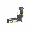 iPhone 5s Dock Port & Headphone Jack Assembly - White