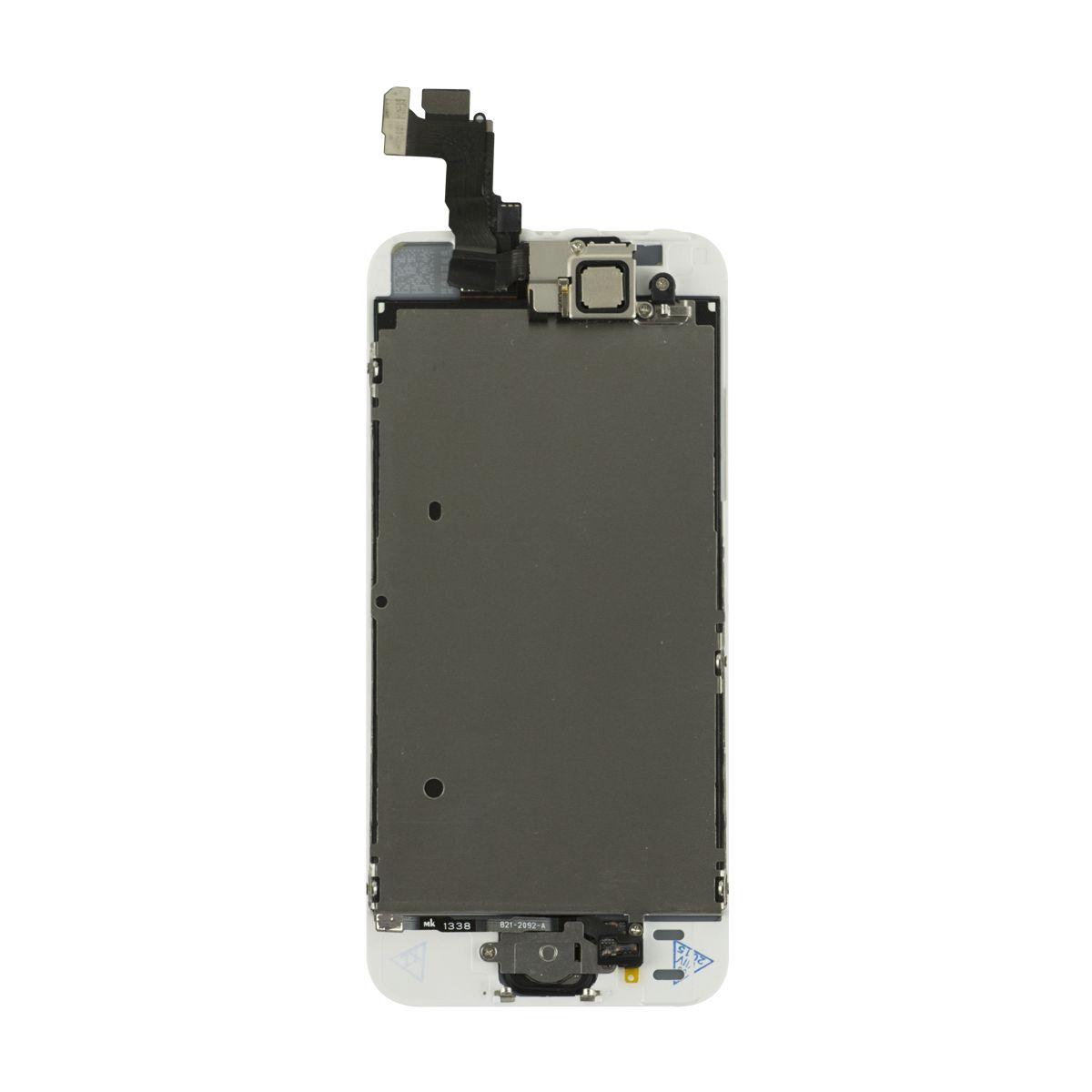 iPhone 5s LCD   Touch Screen Assembly with Small Parts - White Silver e56215f2e8