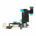 iPhone 6s Plus Dock Port & Headphone Jack Flex Cable Replacement - White
