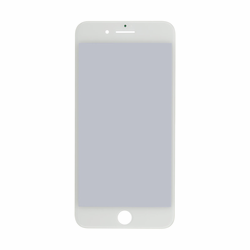 iPhone 7 Plus Glass Lens + Front Frame (Cold Press Glue) + OCA + Polarizer - White