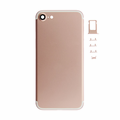 iPhone 7 Rear Cover Replacement - Rose Gold (Blank)