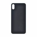 iPhone X Rear Case Glass Replacement - Black (No Logo)