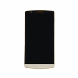 LG G3 LCD & Touch Screen Assembly with Frame - Gold