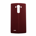 LG G4 Leather Back Battery Cover with NFC - Red