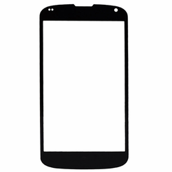 LG Google Nexus 4 E960 Glass Lens Screen Replacement - Black