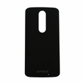 Motorola Droid Turbo 2 Back Battery Cover Replacement - Black