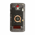 Motorola Droid Turbo 2 Middle Frame Assembly Replacement - Black/Gray