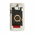 Motorola Droid Turbo 2 Middle Frame Assembly Replacement - Silver