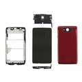 Motorola Droid Ultra XT1080 Complete Housing Assembly Replacement - Red