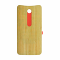 Motorola Moto X Style Back Battery Cover Replacement - Bamboo (Wood)