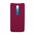 Motorola Moto X Style Back Battery Cover Replacement - Raspberry (Plastic)