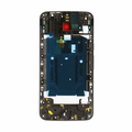 Motorola Moto X Style Middle Frame Assembly Replacement - Black