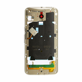 Motorola Moto X Style Middle Frame Assembly Replacement - Gold