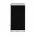 "Samsung Galaxy Mega 6.3"" LCD & Touch Screen with Frame - White (GSM) Aftermarket"