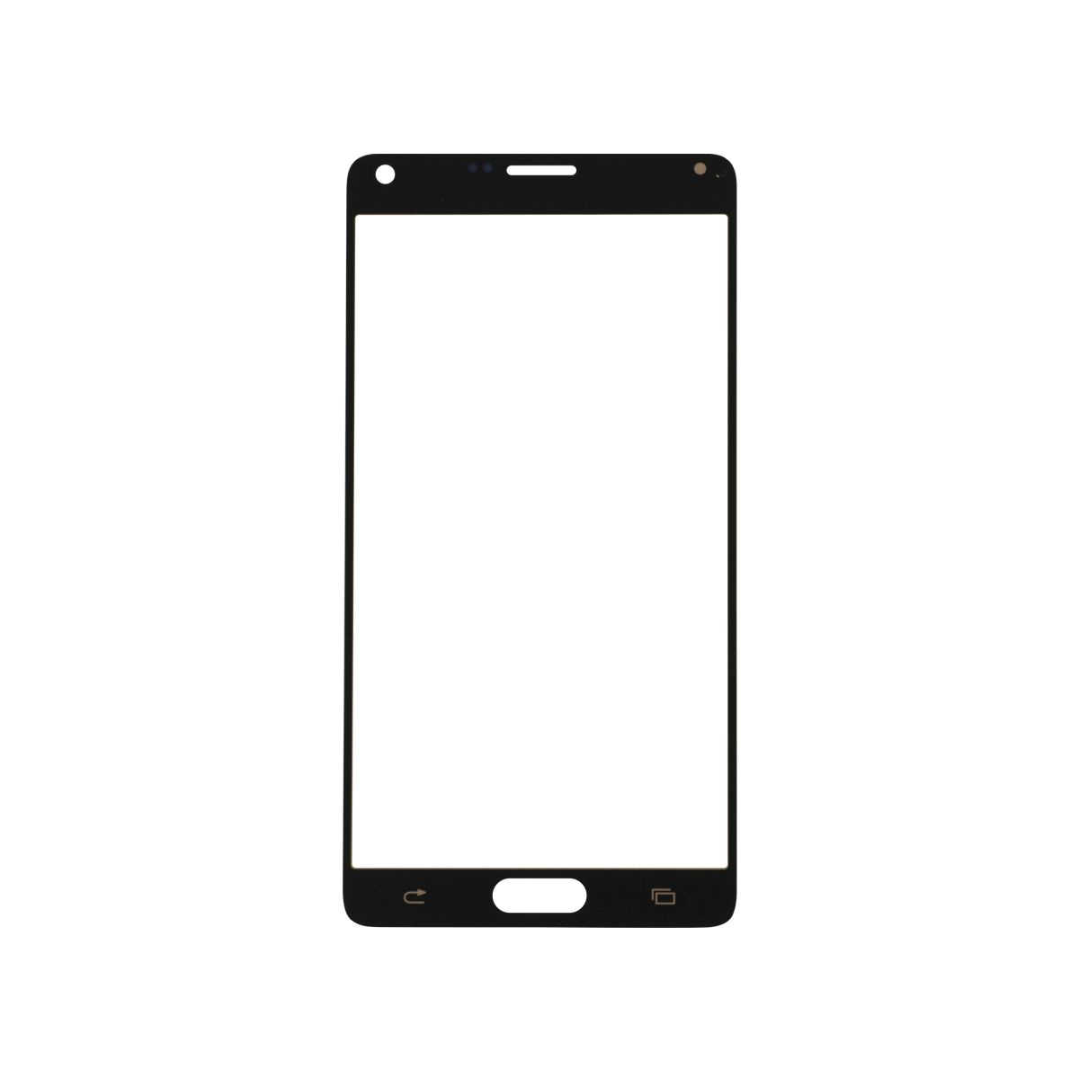 Samsung Galaxy Note 4 Glass Lens Screen Replacement Gold 3 White