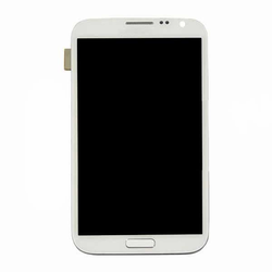 Samsung Galaxy Note II LCD + Touch Screen + Housing - White (GSM)
