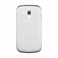Samsung Galaxy S Duos Middle Housing & Back Battery Cover - White (Generic)