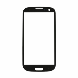 Samsung Galaxy S3 Glass Lens Screen Replacement - Black