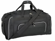 "Black Duffle Bag, 24"" length"