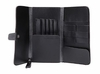 Hair cutting tools black leather pouch_one LEFT IN stock!!