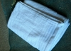 "Extra Large White Cotton Bath Towel 54"" x 28"""