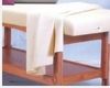 Set of Twin Sheets, White cotton blend, for Esthetician exam (table not included)
