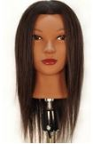 "State Board Mannequin Head, Human Hair, 14"" length"