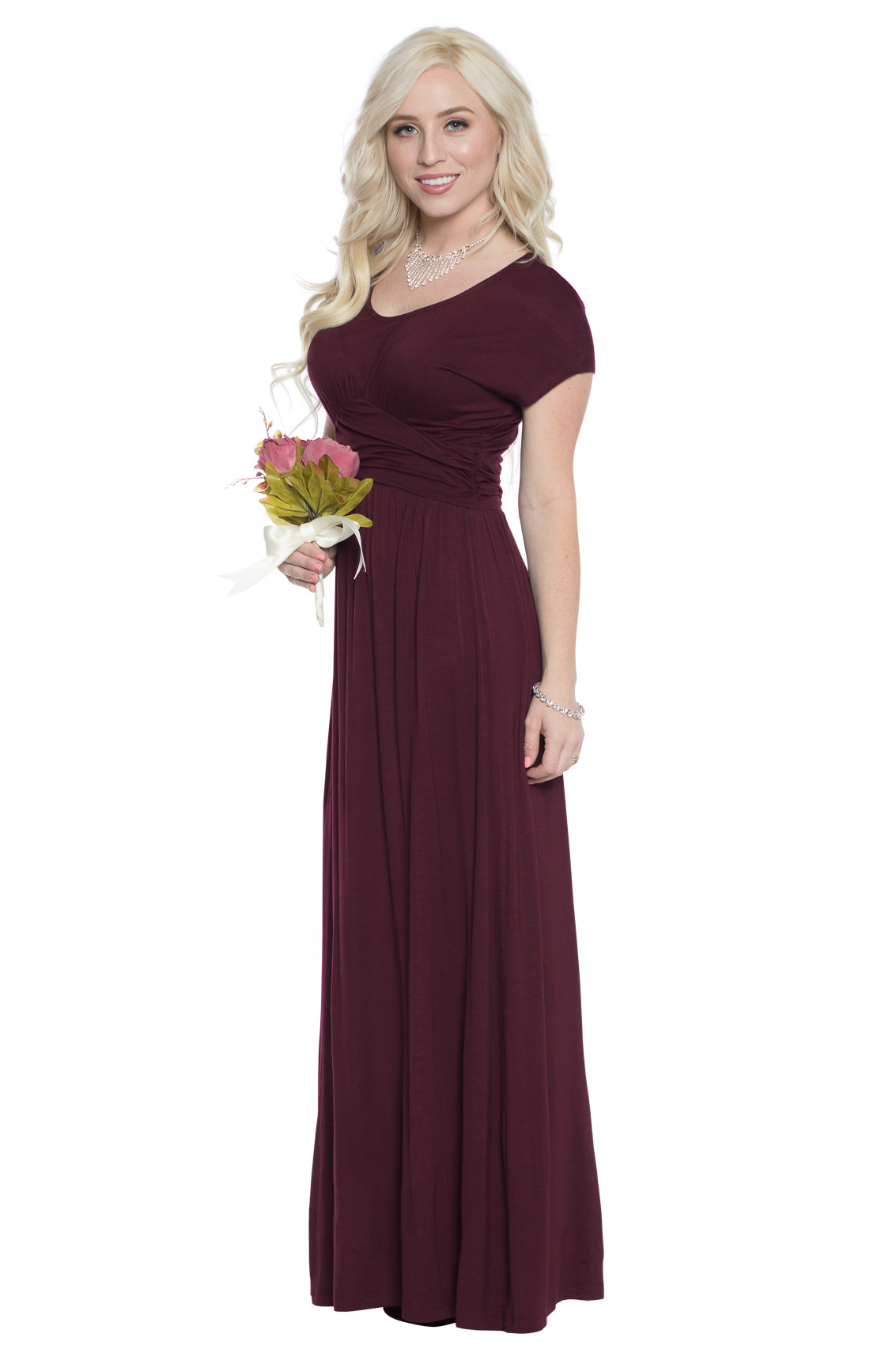 Modest bridesmaid dresses modest brides maid dresses modest athena modest maxi or bridesmaid dress in deep plum purple or burgundy plum ombrellifo Images
