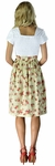 """Celeste"" Modest Dress in Tan Floral Print"