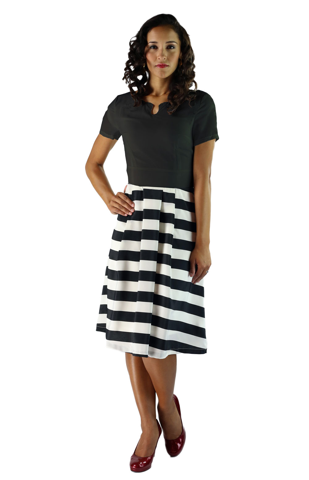 Collection Black Striped Skirt Pictures - Watch Out, There's a ...