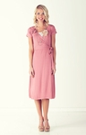 """Kristy"" Modest Dress in Dusty Pink"