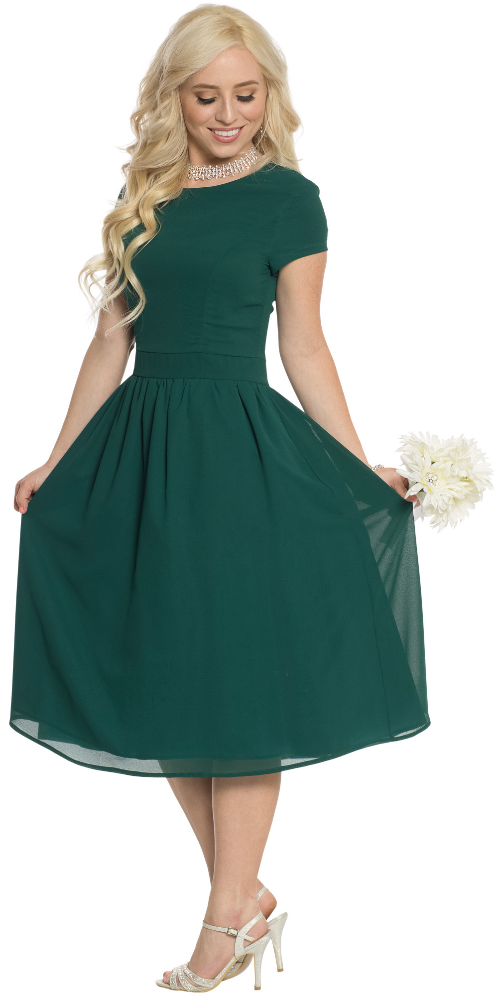 Lucy semi formal modest bridesmaid dress in dark forest green or lucy modest bridesmaid dress in dark forest green emerald ombrellifo Gallery