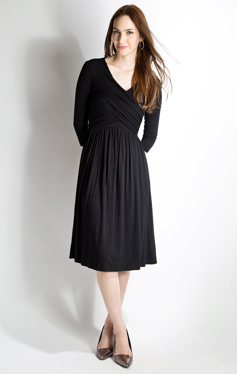 Modest Black Dress