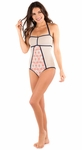 """""""Sailing Sunset"""" One-Piece Modest Swimsuit in Multi Print"""