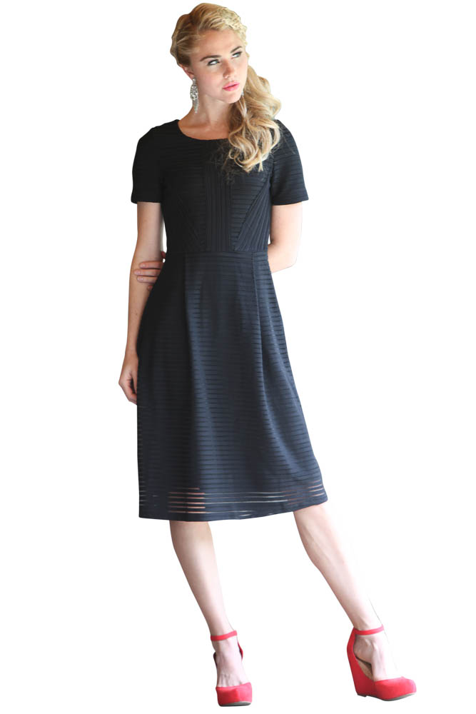 Modest Dresses: Scarlett in Black