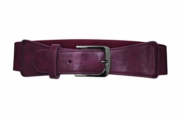 Spandex Belt in Magenta