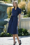 """Taylor"" Navy Blue Modest Dresses"