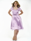"""Tea Party"" Modest Dress in Lilac"