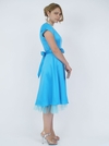 """""""Tea Party"""" Modest Dress in Turquoise"""