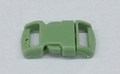 """3/8"""" Plastic Side Release Buckle - Lime Green"""