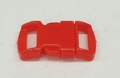 """3/8"""" Plastic Side Release Buckle - Red"""