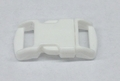 """3/8"""" Plastic Side Release Buckle - White"""