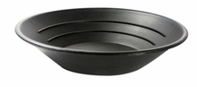 "Black Plastic 10"" Gold Pan"