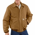 Carhartt Flame-Resistant Duck Bomber Jacket / Quilt Lined