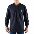 Carhartt Flame Resistant Force™ Cotton Long-Sleeve Henley