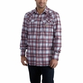 Carhartt Flame-Resistant Snap Front Plaid Shirt