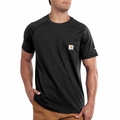 Carhartt Force Short-Sleeve T-Shirt (Black, White & Gray)